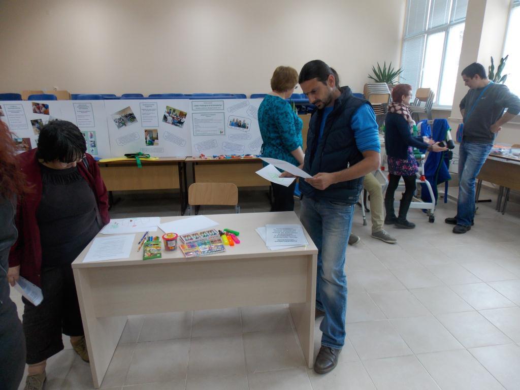 """Участие в """"Отворени врати"""", организирани от Русенски университет, специалност """"Ерготерапия"""""""